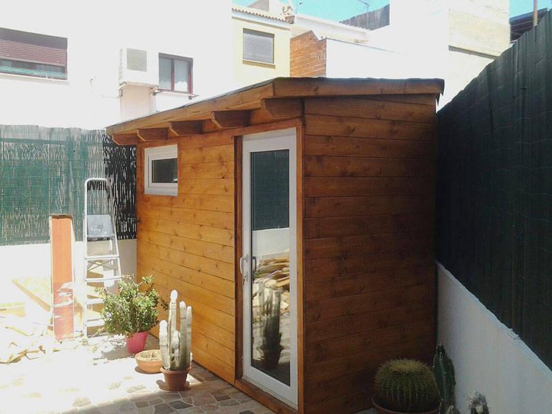 Caseta insonorizada home studio de casetas de madera for Casetas para terrazas