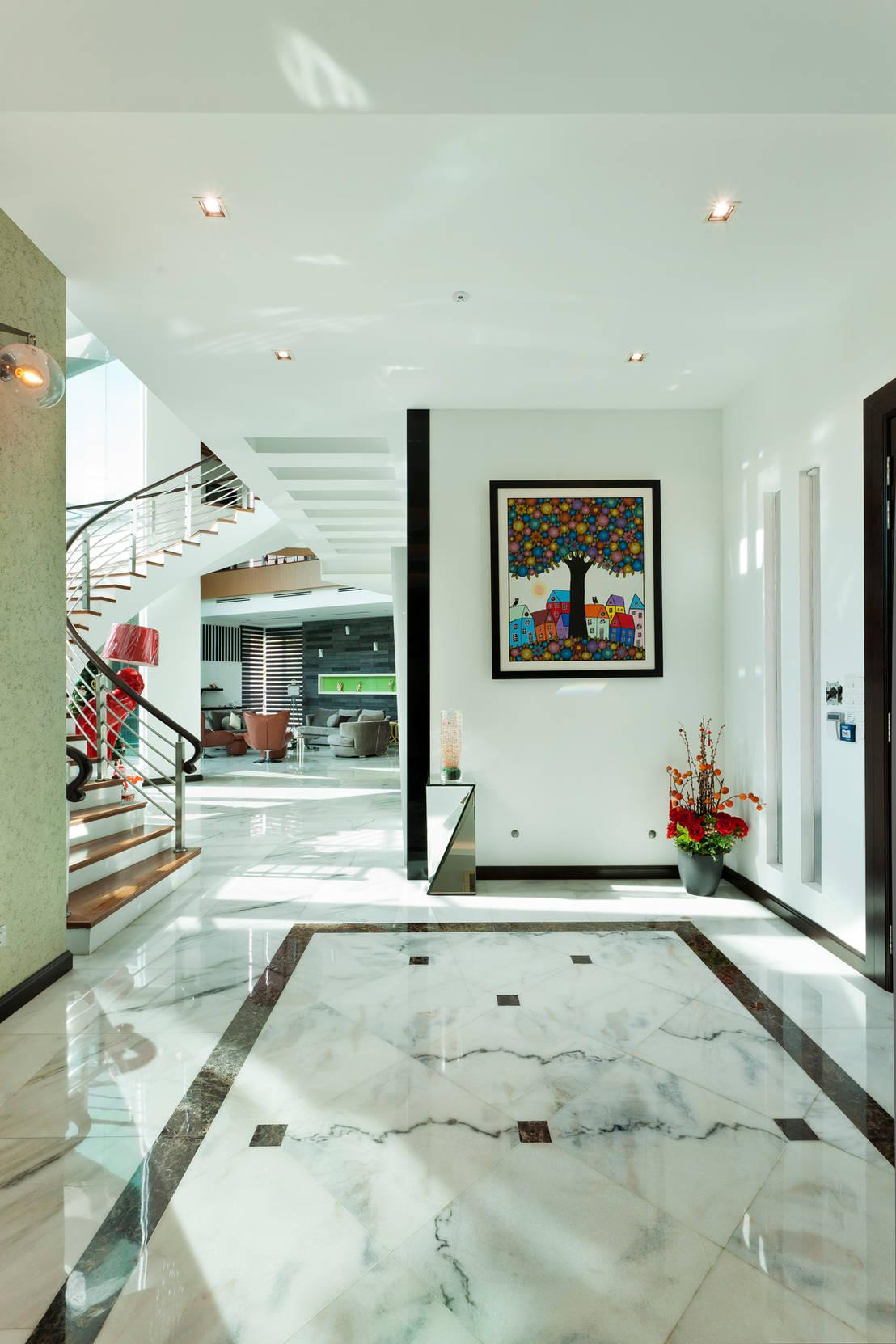 Contemporarily dashing bungalow di design spirits homify for Concetto di design moderno bungalow