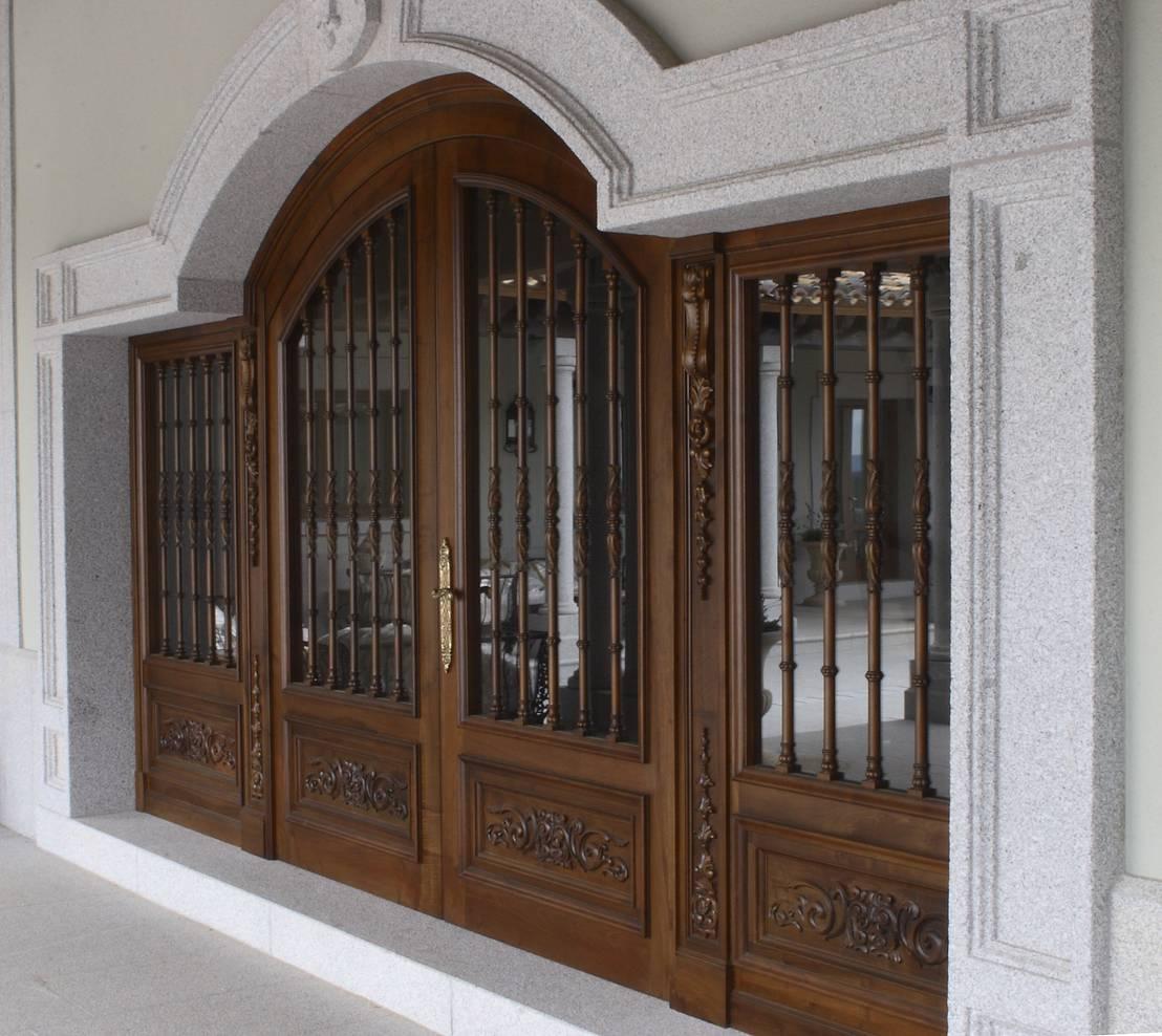 Para Proteger Con Estilo 16 Dise Os De Rejas Para Puertas