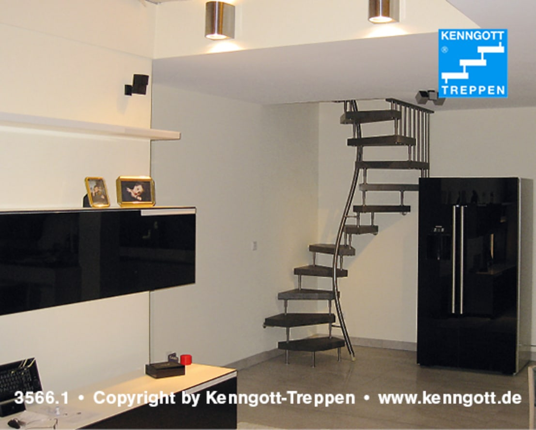 kenngott 1m2 treppe por kenngott treppen longlife holz metall stein homify. Black Bedroom Furniture Sets. Home Design Ideas