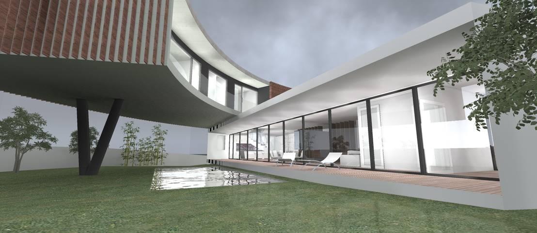2l 39 atelier arquitectos casa cm homify - Cm arquitectos ...