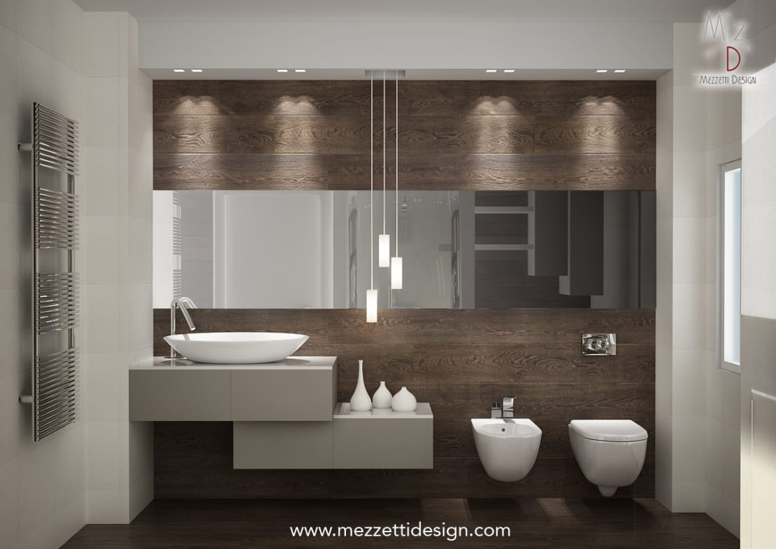Progetto di un bagno von mezzettidesign homify - Progetto di un bagno ...