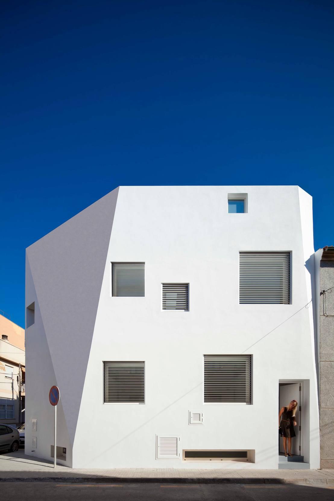 Casas mm de rm arquitectura homify for Edificios minimalistas fotos