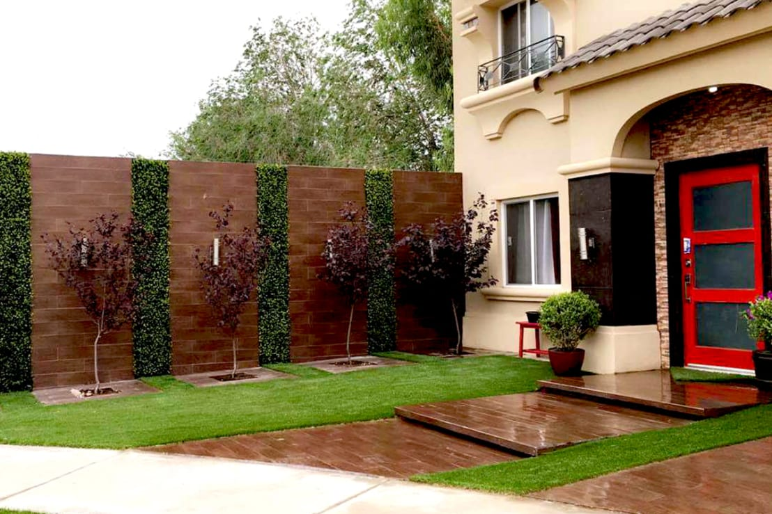 11 ideas geniales para revestir las paredes exteriores - Revestir paredes exteriores ...