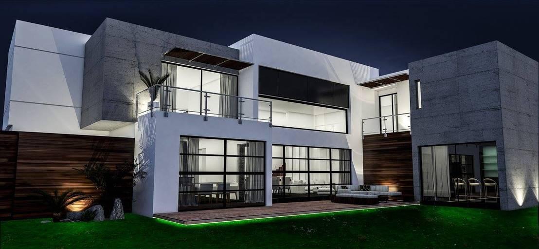 Casa fc de dlp arquitectos homify for Arquitectos para casas