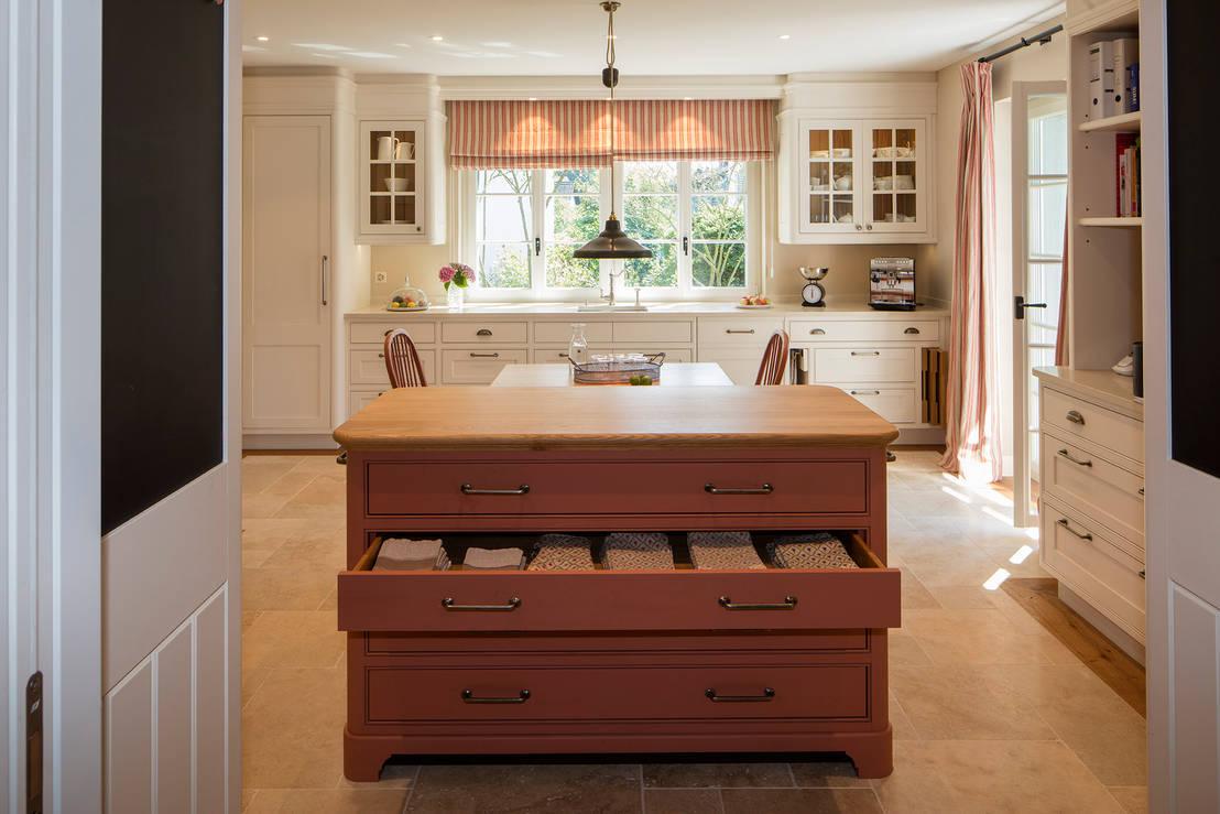 k che im shaker stil by baur wohnfaszination gmbh homify. Black Bedroom Furniture Sets. Home Design Ideas
