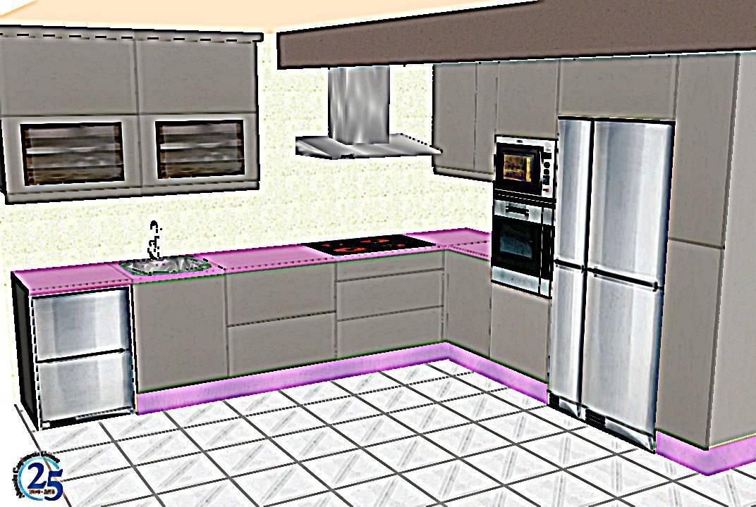 Almac n de carpinter a g mez cocina formica homify for Almacen para cocina