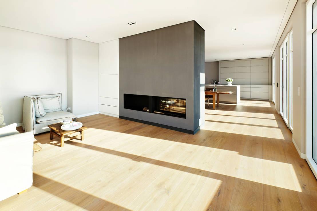 pur natur nat rliche eichedielen versch nern den wohnraum homify. Black Bedroom Furniture Sets. Home Design Ideas