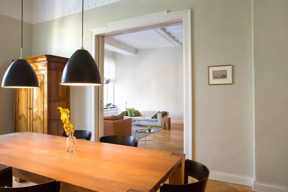 Wohnung charlottenburg von britta wei er innenarchitektur for Lampen charlottenburg