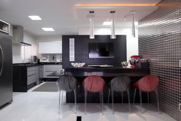 Cozinha Jantar Rea Gourmet Integradas De Adriana Fiali E Rose