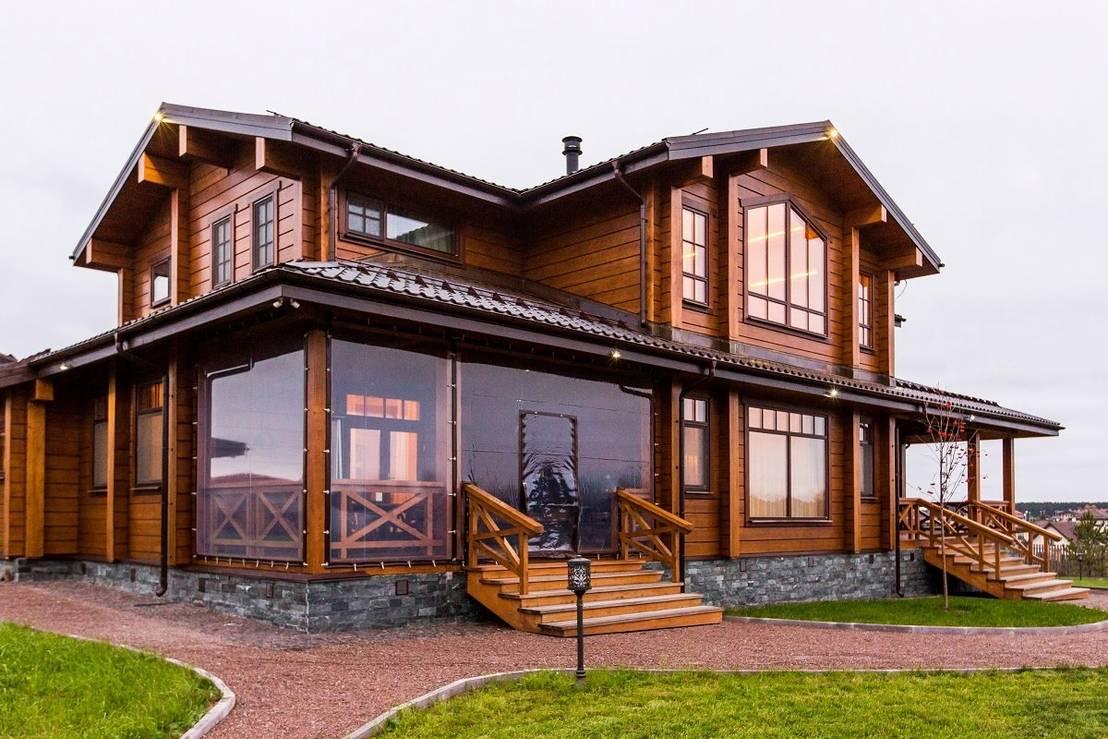 Дом из клееного бруса будет служить вам всю жизнь