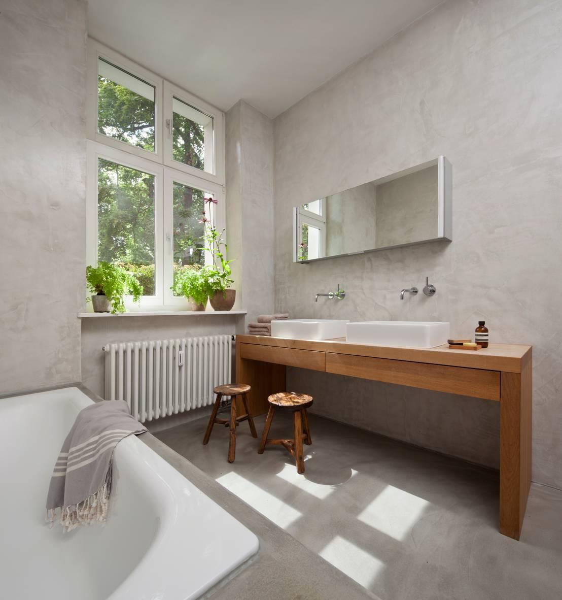 Badezimmer potsdam von britta wei er innenarchitektur homify for Innenarchitektur badezimmer
