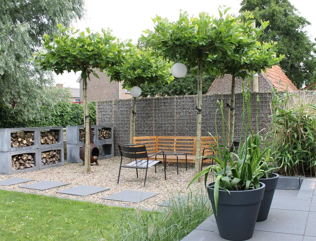 Leuke tuin in friesland door joke gerritsma tuinontwerpen for Tuinontwerpen kleine tuin foto s