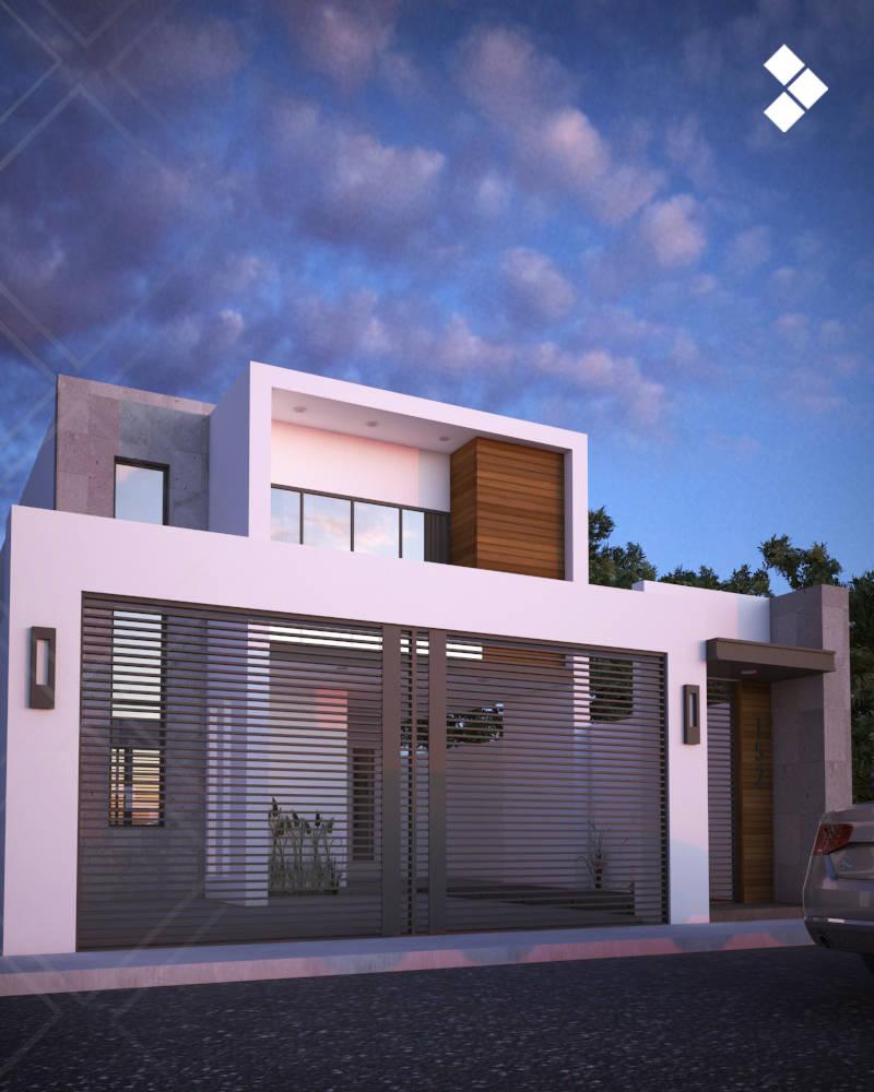 5 fant sticas casas con sus planos para que te inspires ya for Casa minimalista chica