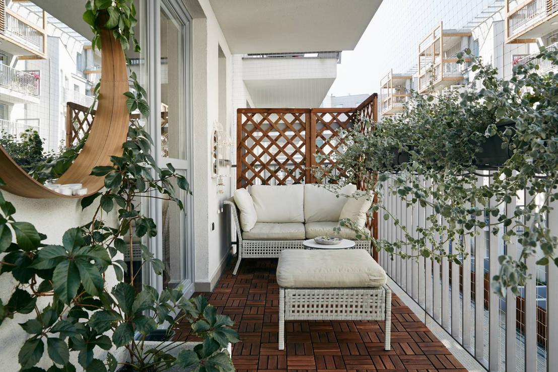 10 balconi che ti ispireranno ad arredare il tuo for Mobili terrazza
