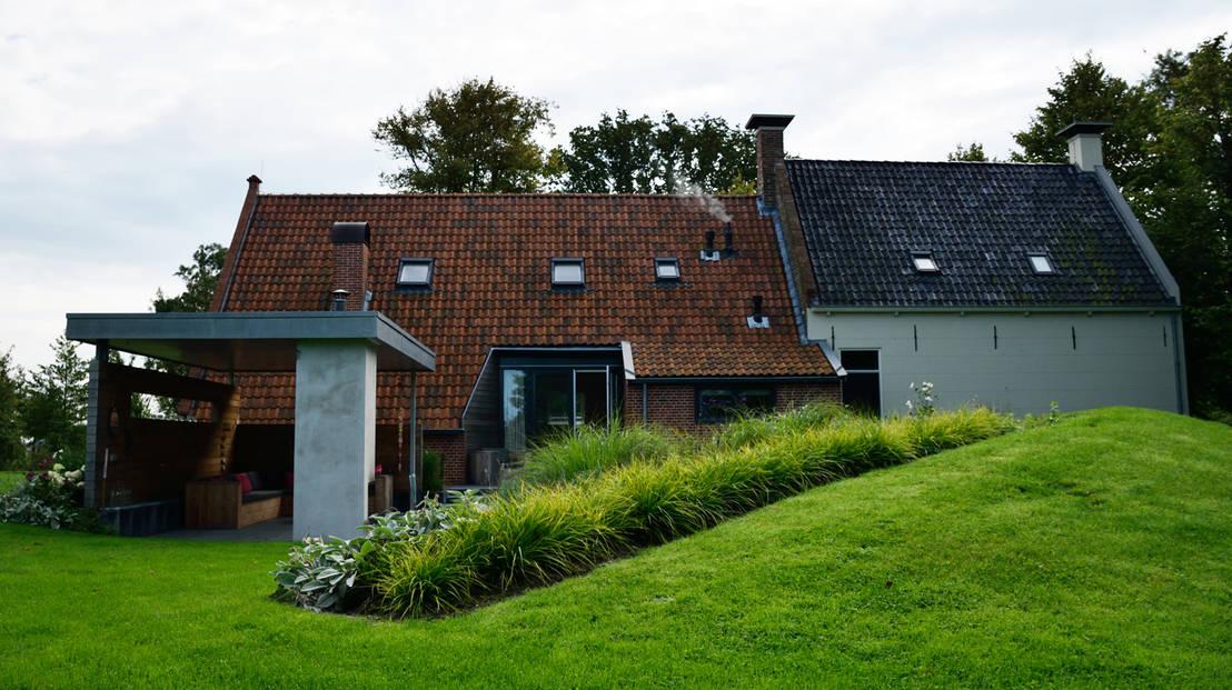 Landelijke tuin winsum door klap tuin en for Landelijke stadstuin