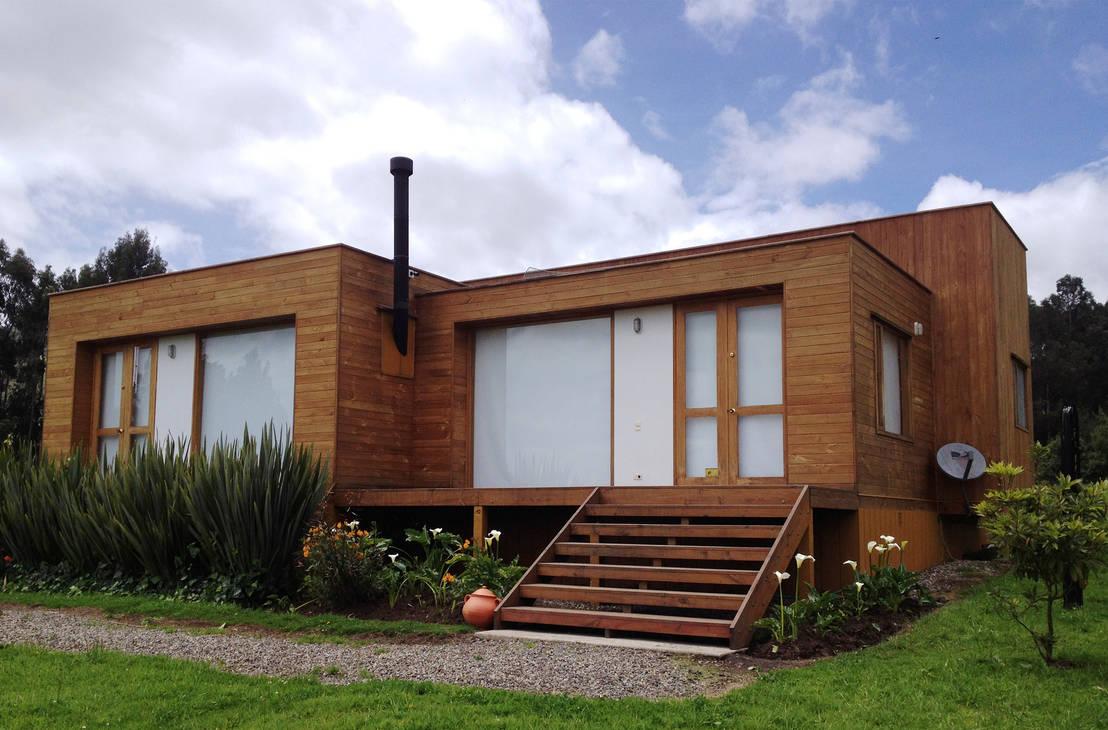 casa cubica madera de taller de ensamble sas homify