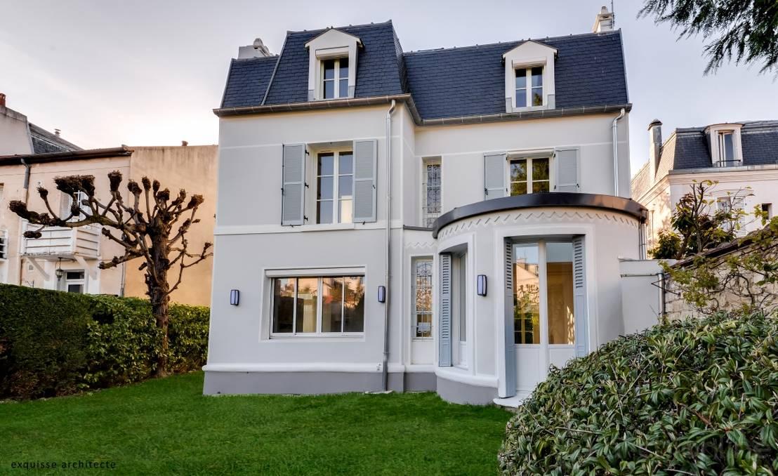 Klassisches haus mit elegantem flair for Haus mit flair