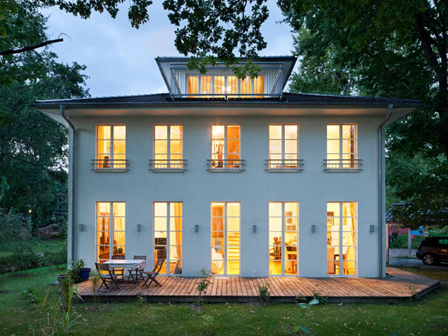 villa maurive de m llers b ro homify. Black Bedroom Furniture Sets. Home Design Ideas