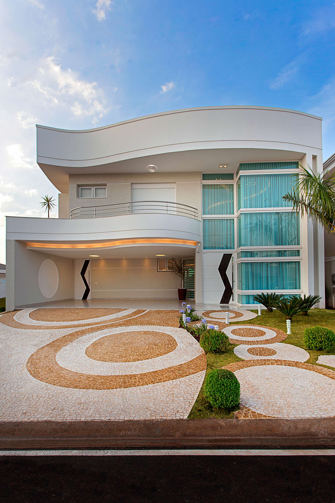 Casa villa lobos by arquiteto aquiles n colas k laris homify - Camas pegadas ala pared ...
