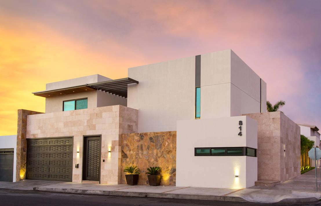 15 dise os de fachadas para casas en esquina for Fachadas de casas modernas entre medianeras