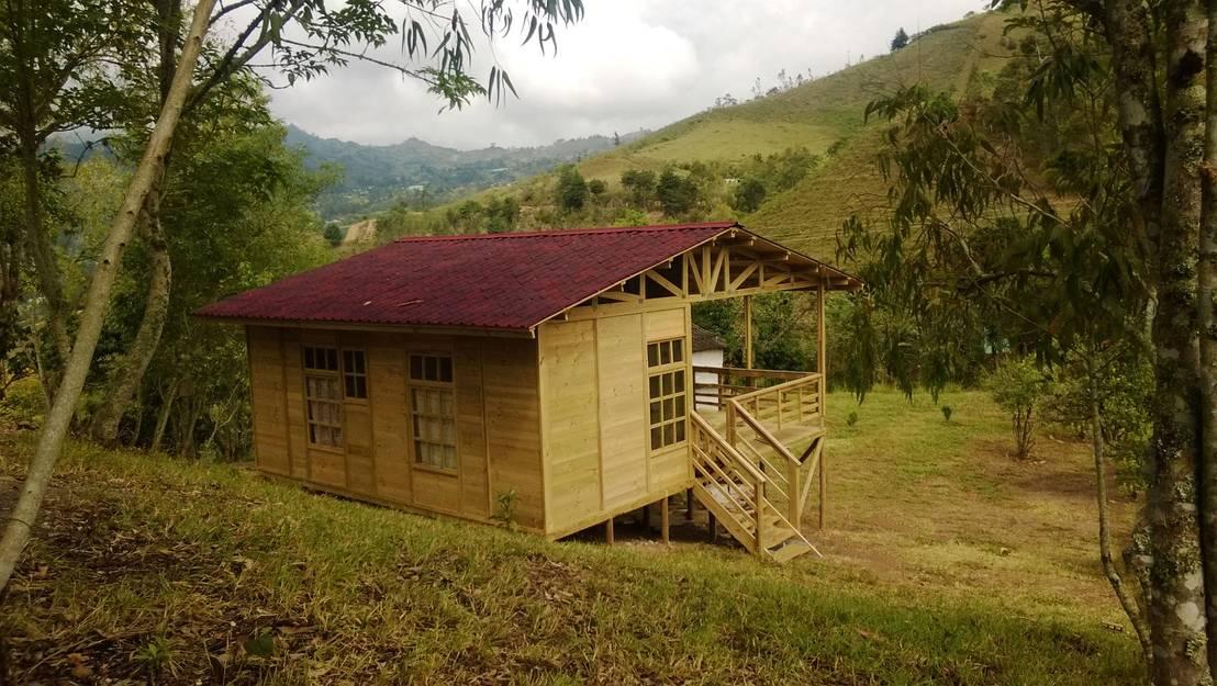 Casas de madera von woodmade homify for Casas de madera shop