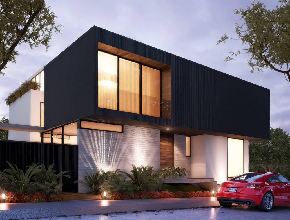 Residencial de oriente arquitectos homify for Rendering casa gratis