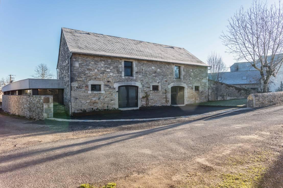 Une vieille maison de campagne radicalement transform e - Vieille maison de campagne ...
