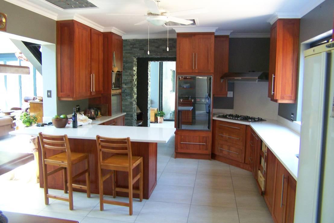 12 cocinas con comedor sensacionales for African kitchen gallery