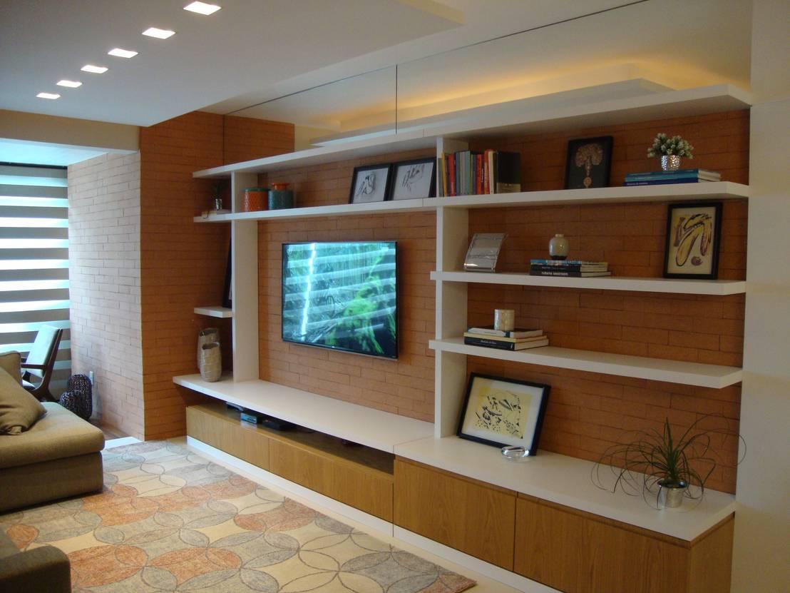 Repisas modernas para la sala - Repisas de pared modernas ...