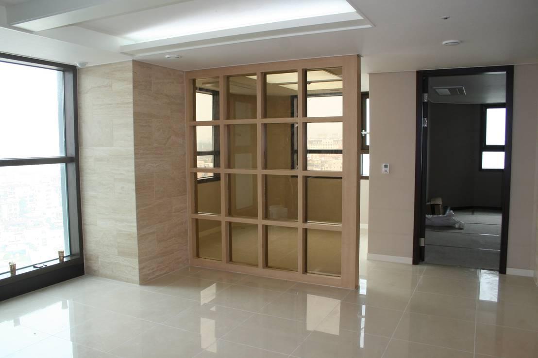 20 ideas para separar espacios en casas grandes y peque as - Porta divisoria zona notte ...