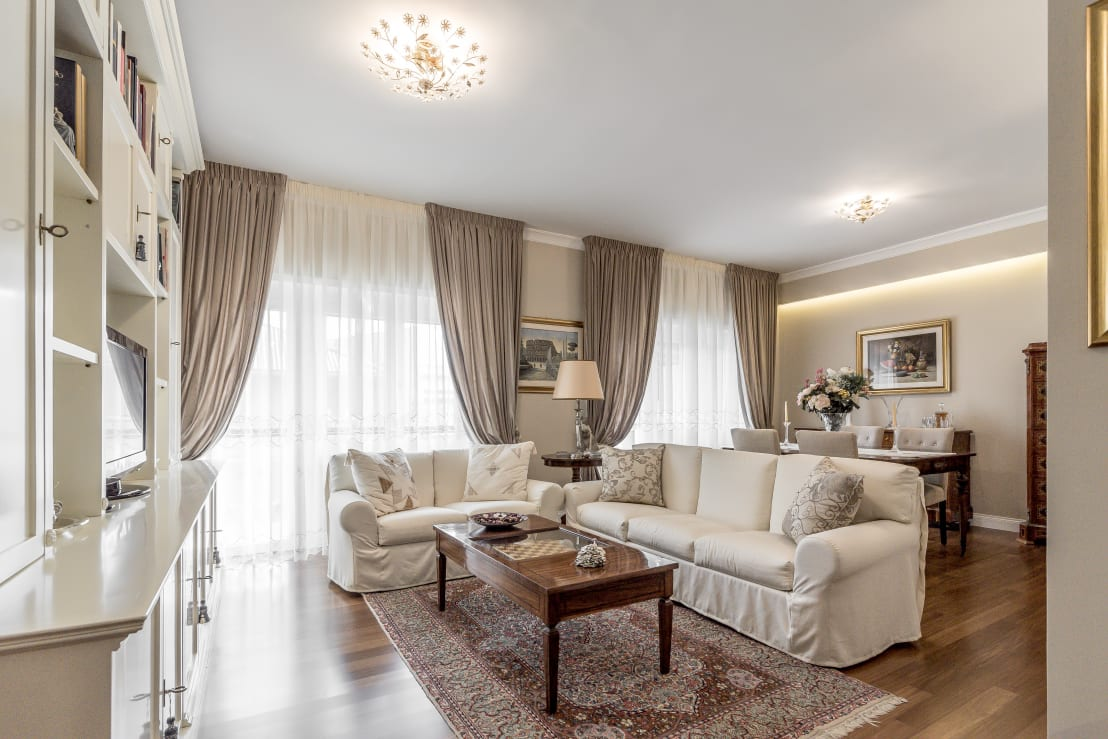 Facile ristrutturare ristrutturazione appartamento roma - Tende per soggiorno classico ...