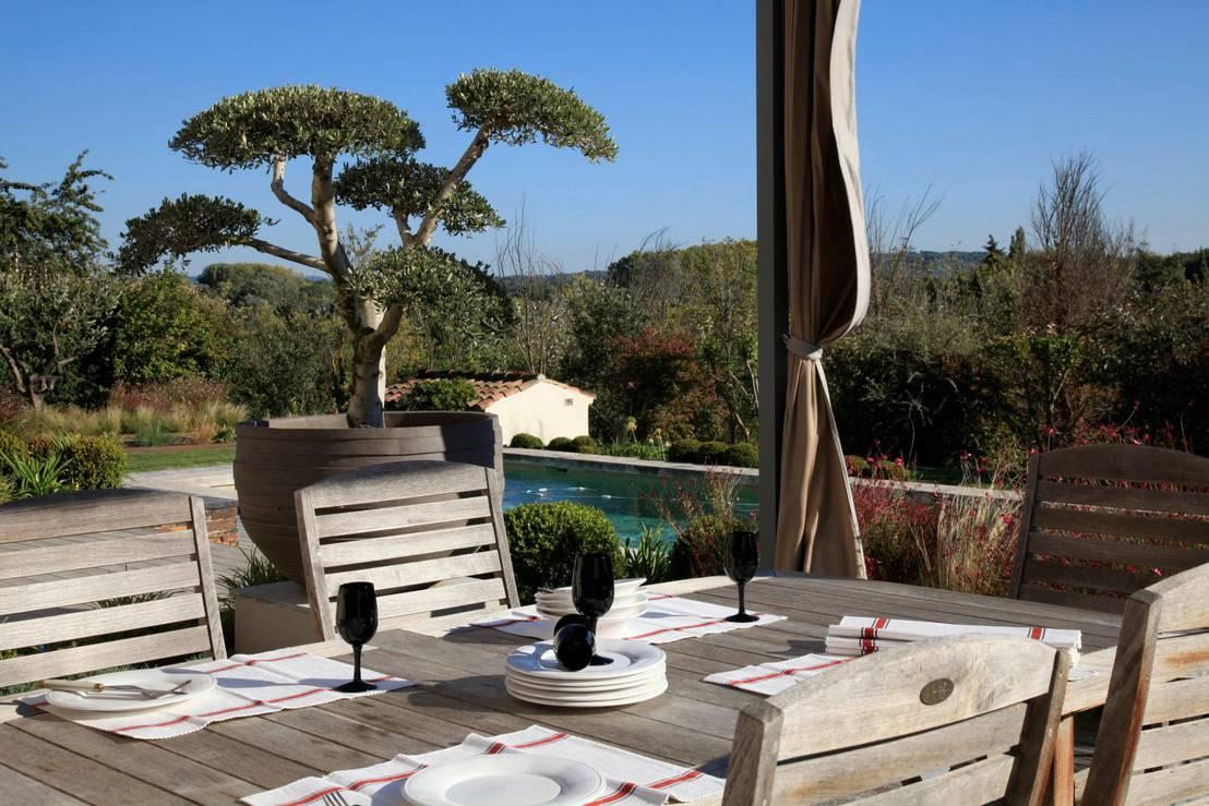 Aix en provence jardin d co de conceptuelles paysage et for Provence mobiliario