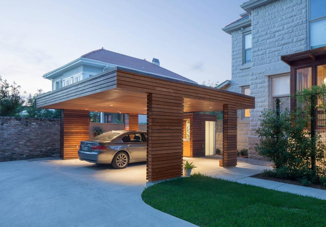 11 unique garages