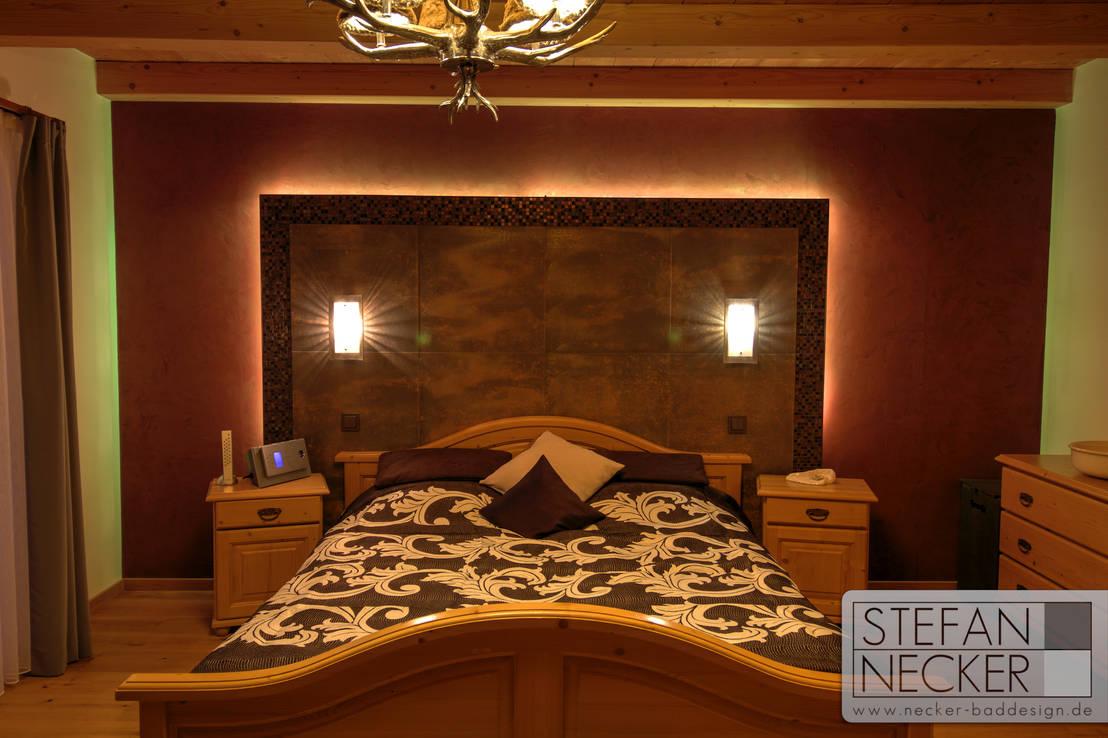 Schlafzimmer - Designrückwand von Stefan Necker BadRaumKonzepte | homify