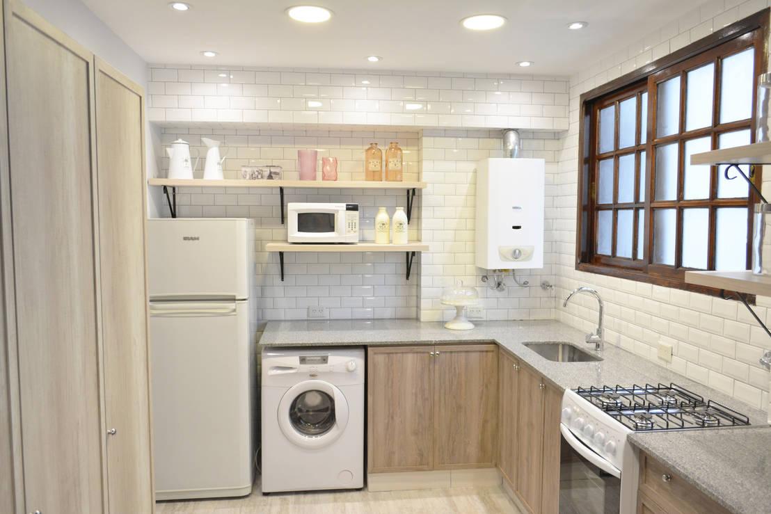 Remodelaci n cocina estilo vintage de estudio nicolas pierry homify - Cocinas con estilo ...