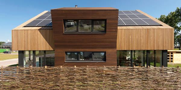Bio villa met een fantastische moderne stijl for Moderne stijl gevel
