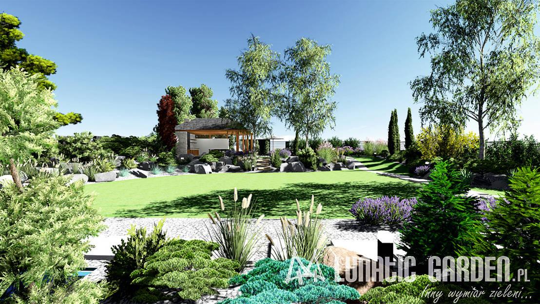 projekt ogrodu von lunatic garden homify. Black Bedroom Furniture Sets. Home Design Ideas