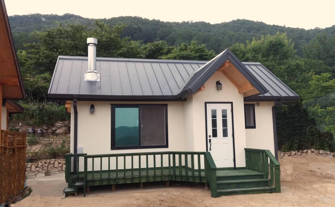 6 planos de casas de madera peque as y acogedoras - Casas de madera pequenas ...