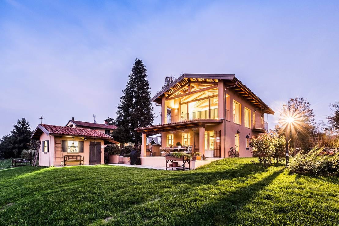 Casa di campagna di uau un 39 architettura unica homify for Immagini di entrate di ville