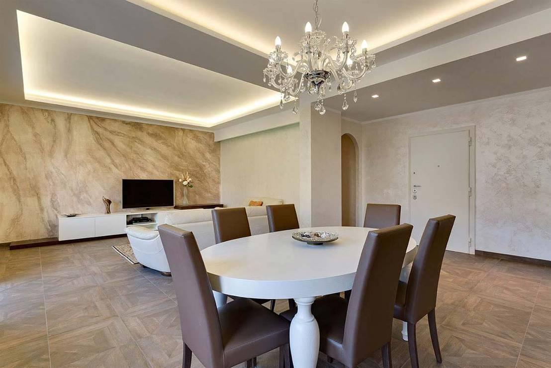 30 ispirazioni per aggiungere una fantastica sala da - Tappeti per sala da pranzo ...