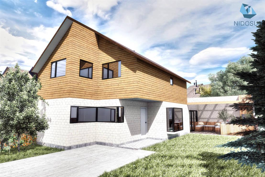 Casa mr2 de nidosur arquitectos homify for Arquitectos para casas