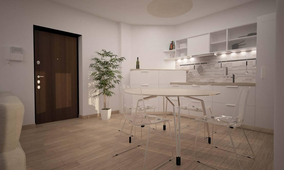 Bilocale santo stefano por lab16 architettura design homify for Architettura design