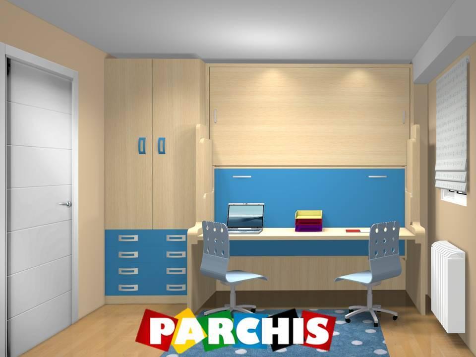 Montajes realizados por muebles parchis muebles juveniles for Muebles bellerin dormitorios juveniles