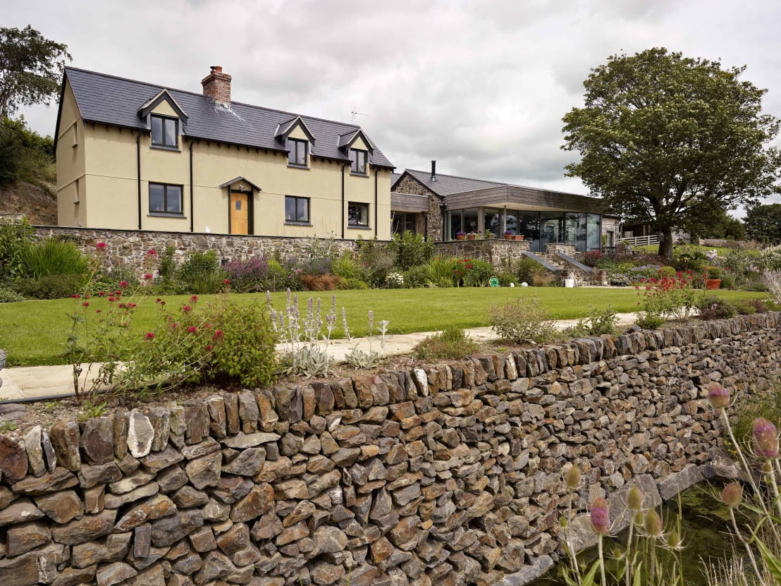 This retired welsh couple got their dream country home for Dream country homes