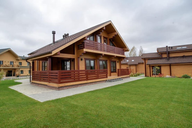 Una caba a de madera perfecta para vivir en ella todo el a o - Vivir en una casa de madera ...
