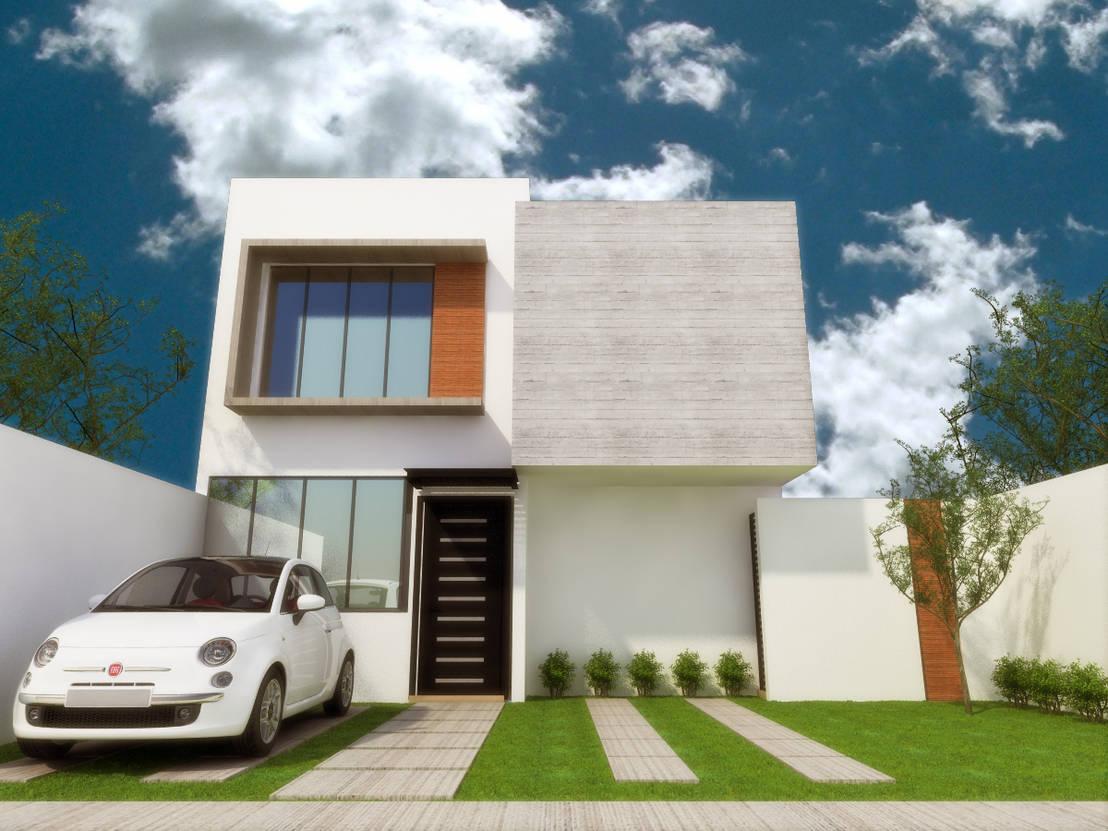 Casa habitacion de dlr arquitectura dlr dise o en madera for Proyecto casa habitacion minimalista