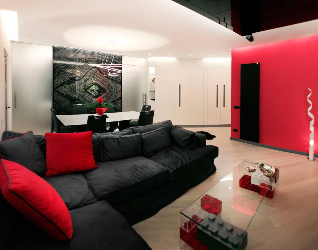 Casa es flat in rome by davide coluzzi daz architect for Living room 2 for daz studio