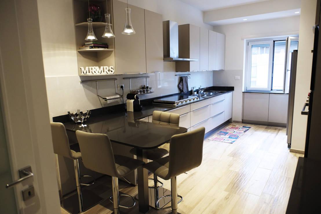 56 foto di cucine con penisola ideali per spazi ridotti - Immagini cucine con penisola ...