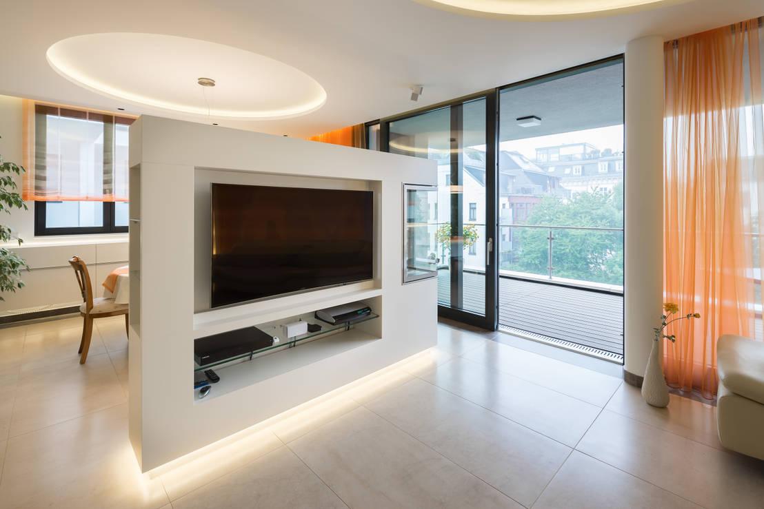Penthousewohnung Innenarchitektur + Lichtdesign   homify